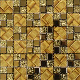 Gạch mosaic thủy tinh G7-005