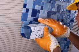 Thi công gạch mosaic thủy tinh G748-05