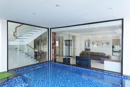 gạch mosaic bể bơi chip 48