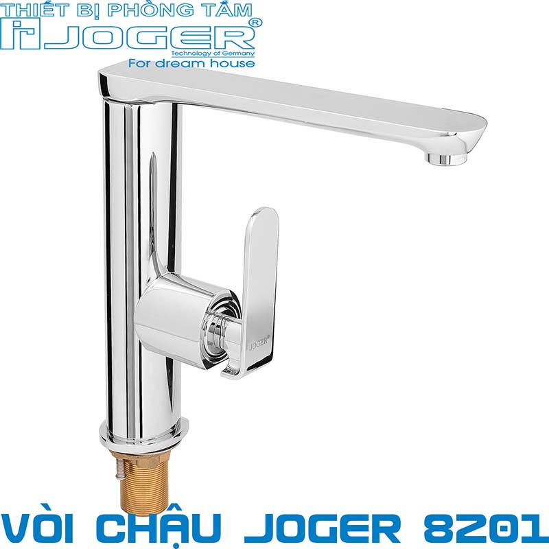 Vòi rửa bát nóng lạnh JOGER 8201